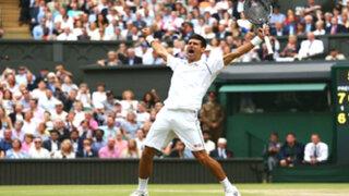 Novak Djokovic se coronó campeón de Wimbledon 2015 tras vencer a Roger Federer