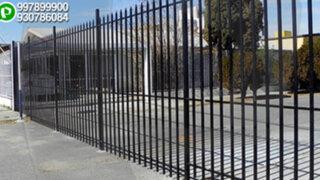 La Molina: vecinos enrejan pasaje y lo convierten en su patio particular