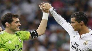 Cristiano Ronaldo envió un sentido mensaje a Iker Casillas tras su salida del Real Madrid