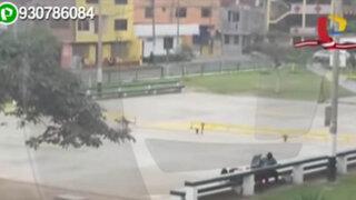 Los Olivos: pese a no tener autorización dirigentes cobran por usar cancha de fútbol