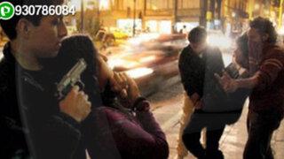 WhatsApp: asaltan a pareja de enamorados en concurrido parque de Barranca