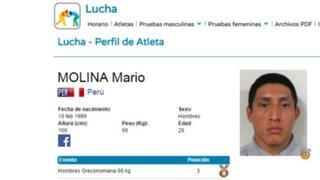 Toronto 2015: Mario Molina ganó medalla de bronce en grecorromana
