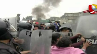 Carabayllo: se enfrentan por obras inconclusas de Ministerio de Transportes