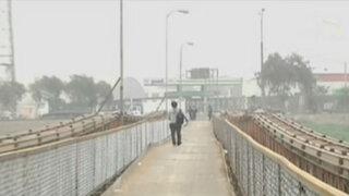 Huachipa: Puente Bailey entró en funcionamiento, pero falta seguridad