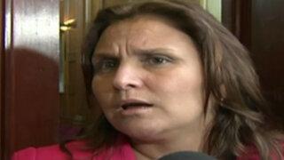 Integrantes de comisión Belaunde Lossio responden a primera dama