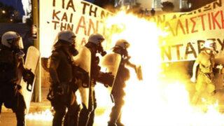 Grecia: disturbios en Atenas por austeridad exigida por Unión Europea