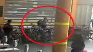 Capturan a delincuente que robaba bicicletas en estación del Metropolitano