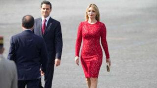 Francia: pareja presidencial mexicana vive otro incómodo momento