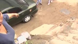 Sujeto arrojó por escaleras a vecino en VMT: víctima acusa desinterés de autoridades