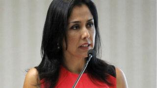 Nadine Heredia desmiente rumores de fuga en Twitter