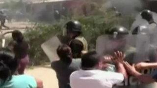 Chiclayo: violento desalojo deja al menos 15 heridos