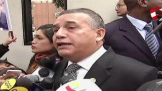 Inicia juicio oral contra Urresti por caso Bustíos