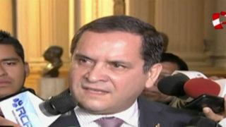 Luis Iberico no se siente descalificado para presidir Mesa Directiva