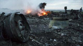 Ucrania: video demostraría que prorrusos derribaron avión de Malaysia Airlines