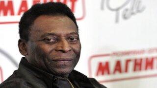 Pelé fue hospitalizado nuevamente en Sao Paulo
