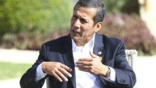 Humala justifica accionar de la policía en La Oroya