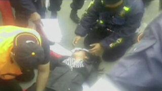 Mujer resultó herida tras caer de estrado durante desfile militar en Ate Vitarte