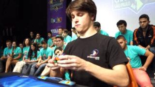 Australiano ganó el Campeonato Mundial del cubo de Rubik realizado en Brasil