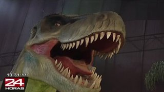 Dinosaurios en Lima: presentan espectacular show en centro comercial del Cono Norte