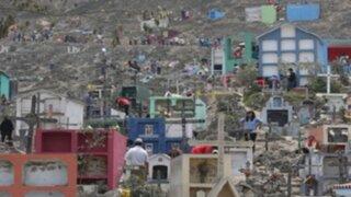 Ministerio de Salud pide cierre temporal de cementerio de VMT por emergencia sanitaria