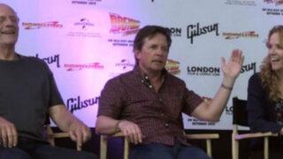 Espectáculo internacional: actores de 'Volver al Futuro' se reencuentran en Comic Con
