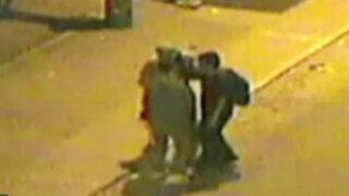 Cámaras registran a ladrones en Los Olivos