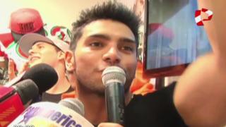 Entre señas: Rafael Cardozo se 'quedó mudo' y se negó a hablar con prensa