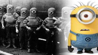 """¿Los """"Minions"""" tienen su origen en un experimento nazi?"""