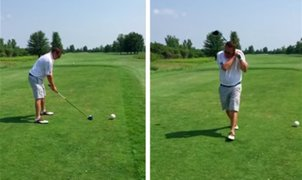 Golfista despierta la indignación de miles por su mala puntería