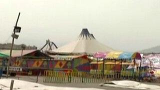 Circo de la Paisana Jacinta: tras atentado realizan inspección en otros locales