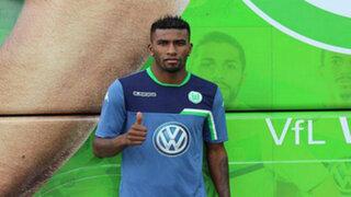 Carlos Ascues ya es jugador del Wolfsburgo y jugará la Champions League
