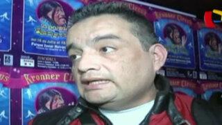 Jorge Benavides anuncia más medidas de seguridad en circo de la Paisana Jacinta