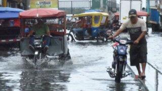 Torrenciales lluvias causan inundaciones en Iquitos