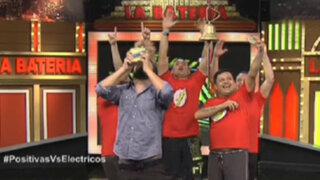 Los Eléctricos alzaron el título de la primera temporada de Esto Da Pena