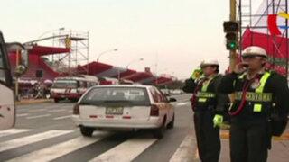 Policía anuncia cierre de calles por desfile de Fiestas Patrias