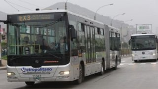 Servicios del Metropolitano tendrán horario especial por Fiestas Patrias