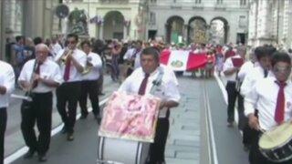 Italia: comunidad peruana celebra Fiestas Patrias en Turín