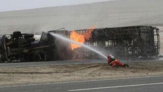 Al menos 10 muertos en accidentes de carretera al interior del país