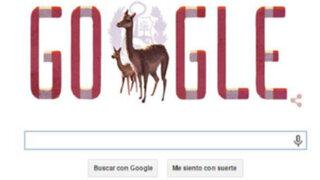 Fiestas Patrias: Google dedica 'doodle' al Perú por aniversario de su independencia