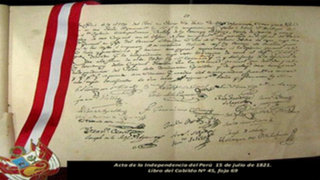 Fiestas Patrias : ¿Quién redactó el Acta de Independencia del Perú?