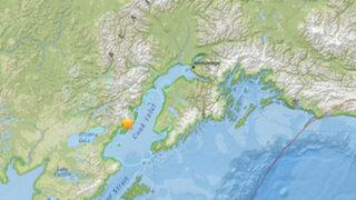Estados Unidos: sismo de 7.1 grados sacudió el sur de Alaska