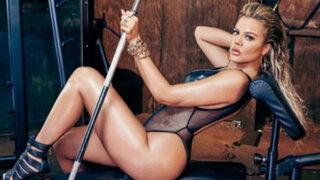 EEUU: hermana de Kim Kardashian realizó atrevida sesión fotográfica para revista