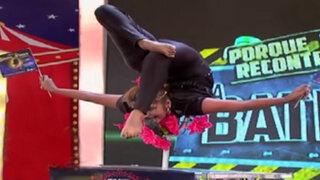 La Batería: contorsionista de 'Star Circus' deslumbra con impresionantes acrobacias