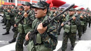 Unas doce mil personas participarán en el Desfile Militar 2015
