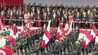 Miles de ciudadanos disfrutaron de Gran Parada Cívico Militar en Av. Brasil
