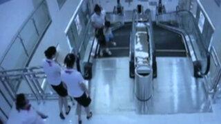 China: accidente fatal de madre en escalera mecánica se pudo evitar