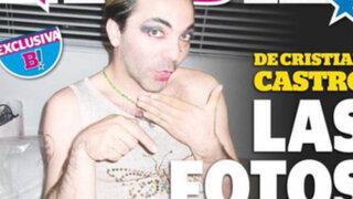 Publican fotografías del cantante Cristian Castro vestido y maquillado como mujer