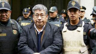 Fiscalía solicitó 17 años de prisión para Facundo Chinguel por caso 'narcoindultos'