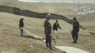 Desalojan a invasores de cerro La Chira en Chorrillos