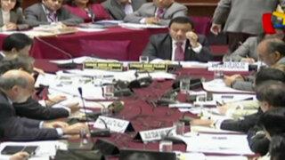 Distribución de comisiones genera pugnas en el Congreso